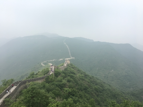 Great Wall on May 2018